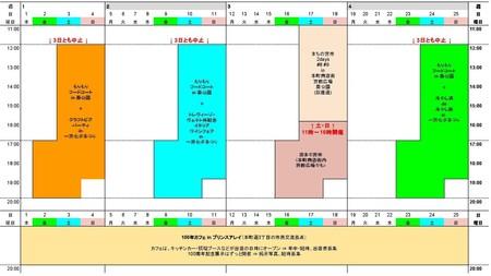 第66回一宮七夕まつり 「七夕マンス」 LOVETANA  スケジュール - イメージ図2.jpg